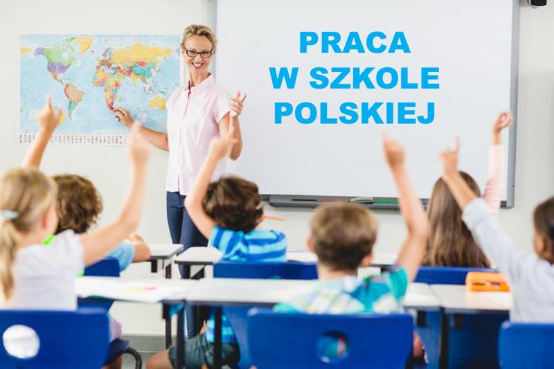 Oferty pracy w Szkole Polskiej